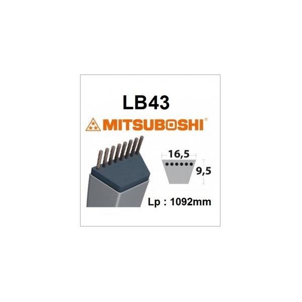 Courroie LB43 MITSUBOSHI