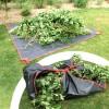 Bâche collecte carrée déchets verts 2,5x2,5m