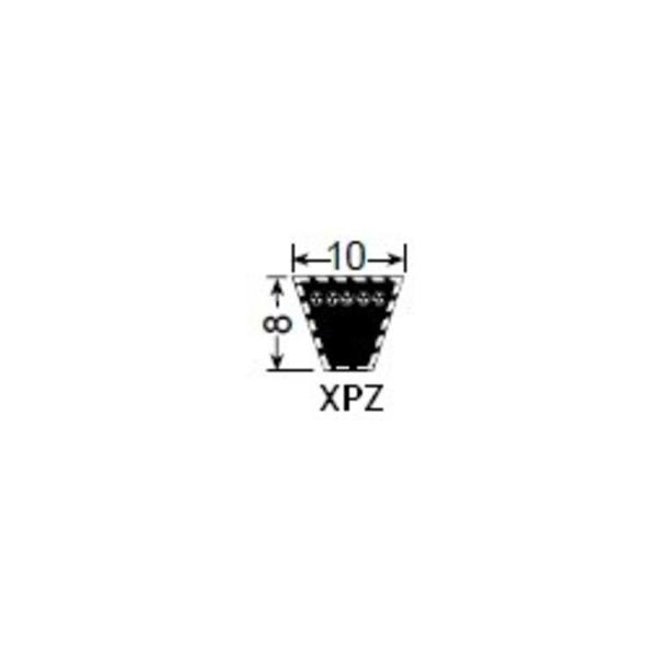 Courroie de transmission XPZ625Lp pour scarificateur Pilote 88-GGP