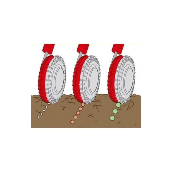 Semoir roue crantée Multi star WOLF