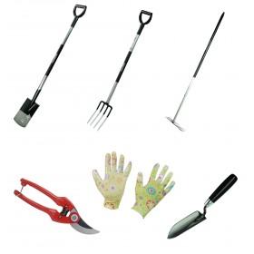 """Kit outils de jardin """"les essentiels"""" légers"""