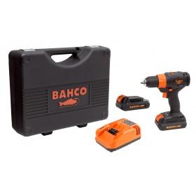 Kit Perceuse à mandrin automatique 13mm 18V BCL33D1K1 BAHCO