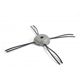 Tête en aluminium à brins 2,55 / 3,75mm pour débroussailleuse 25cc OREGON
