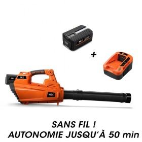 Souffleur à feuille à batterie E435C + batterie EP20 + chargeur EC20 NEX GARDEN