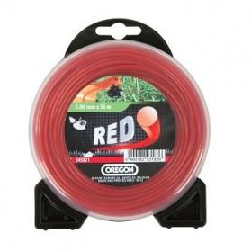 Fil débroussailleuse rond rouge 2,0mm 15m 552617 OREGON