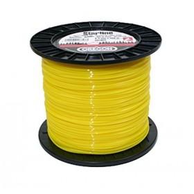 Fil débroussailleuse rond jaune 2,4mm 180m 90159E OREGON