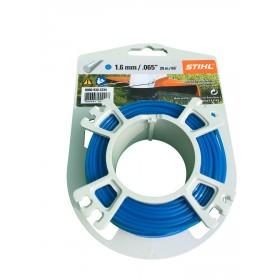 Rouleau fils nylon 20 m/1.6 mm BLEU 9302334 STIHL