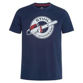 T-shirt Contra Bleu Foncé