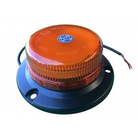 Gyrophare à fixer 12/24V ultra plat Led homologué