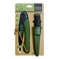 Kit chasseur Scie pliante 396LAP + COUTEAU 2444LAP BAHCO