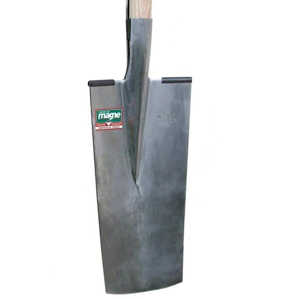 Louchet de pépinièriste 40cm manche bois 105 cm FORGES DE MAGNE