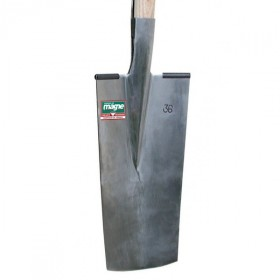 Louchet de pépinièriste 36cm manche bois 105 cm FORGES DE MAGNE