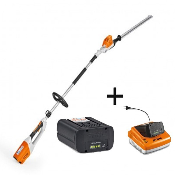 pack taille haies sur perche batterie hla65 stihl avec. Black Bedroom Furniture Sets. Home Design Ideas