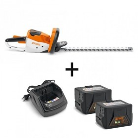 PACK INTENSIF taille-haie HSA 56 + 1 chargeur AL101 + 1 batterie AK10