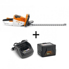PACK taille-haie HSA 56 + 1 chargeur + 2 batteries dont une offerte
