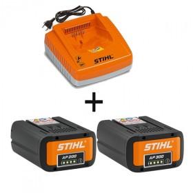 Pack energie STIHL - Batterie AP300 + Batterie AP200 + chargeur AL300