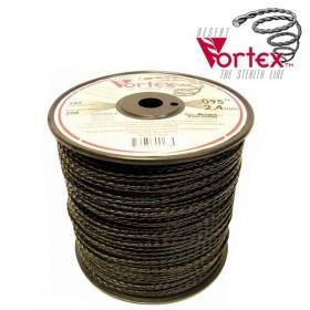 Fil nylon vortex Ø 3 mm pour débroussailleuse en bobine de 131 mètres