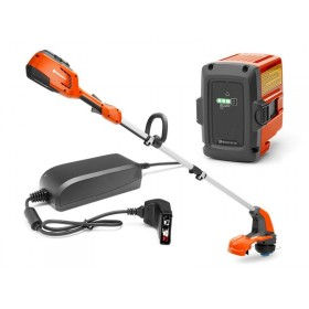 Coupe bordures à batterie 115iL HUSQVARNA + Bli 20 + QC80