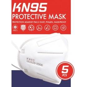 MASQUES DE PROTECTION FFP1 KN95 BOITE DE 5 MASQUES