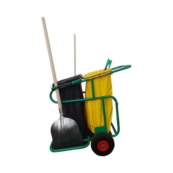 Chariot acier chariocity® double basique SEON