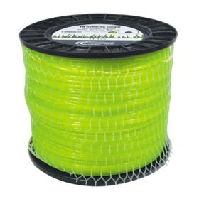 Bobine fil nylon carré (2,0 kg) ø : 2,7 mm