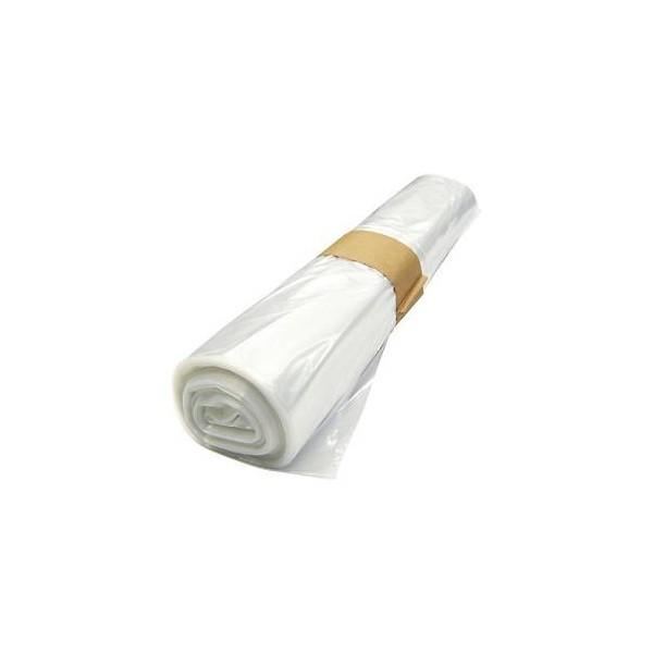 Lot de 10 sacs poubelles transparent 110L 70X110 45 microns