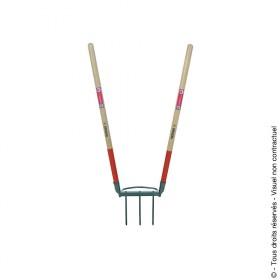 Bioculteur 3 dents Em bois 100 cm MERMIER