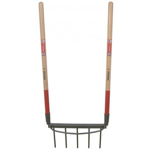 Bioculteur 5 dents em bois 100 cm MERMIER