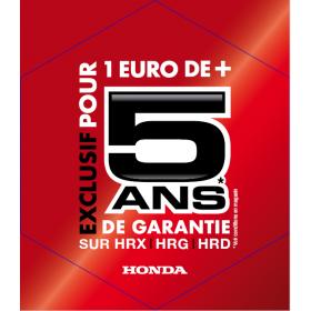 Extension de garantie 3 ans HONDA