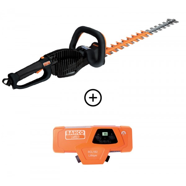 PACK TAILLE HAIE BCL111 63cm + BATTERIE BCL1B2 BAHCO