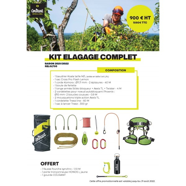 Kit élagage complet COURANT