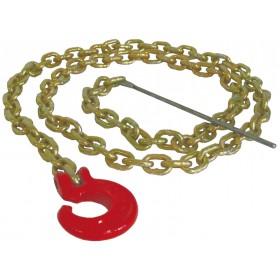 Chaîne-élingue avec crochet en C et aiguille de métal PORTABLE WINCH