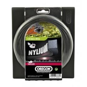 Fil nylium carre 2.4mm x 60m OREGON