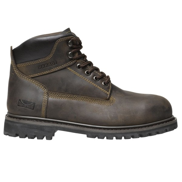 Parade CHAUSSURES DE SECURITE TRUCK Marron - Chaussures Boot Homme
