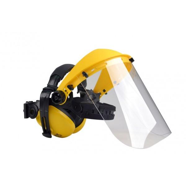 Visière polycarbonate + protége-oreilles OREGON