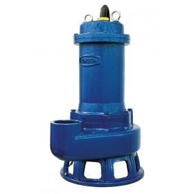 Pompe de relevage triphasée fonte roue monocanale pour eaux très chargées 2,2 kw RENSON