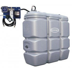 Cuve de stockage 1500L -56 L/min compteur mécanique RENSON