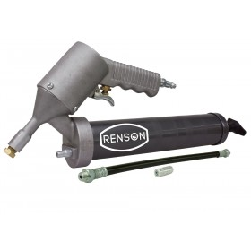 Pistolet à graisse pneumatique coup par coup avec flexible haute pression RENSON