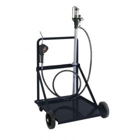 Kit mobile de distribution d'huile pneumatique pour fût de 200L RENSON