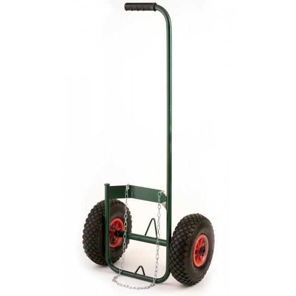 Chariot pour bouteille de gaz, roues gonflables RIBIMEX