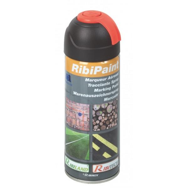 Marqueur rouge fluo en spray 400ml RIBIMEX