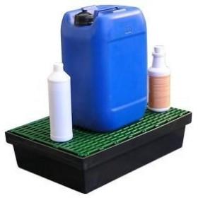 Bac de rétention 30L pour paillasse, rayonnage et armoires MDM