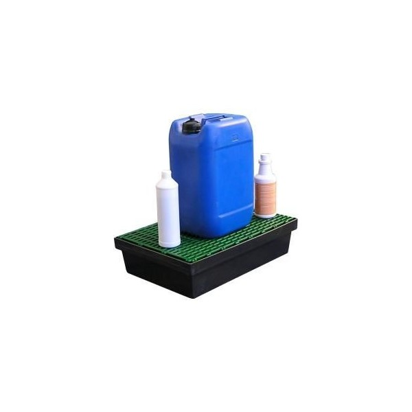 Bac de r tention 30l pour paillasse rayonnage et armoires for Bacs en bois pour jardin