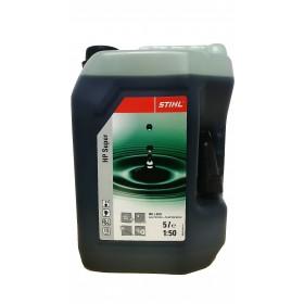 Bidon d'huile pour moteur 2 temps HP Super 5L STIHL