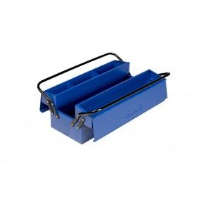 Boite à outils métallique 5 compartiments IRIMO