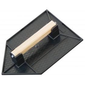Taloche 27x18cm pointue noire TALIAPLAST