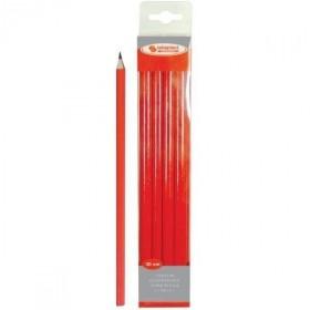 Crayon de charpentier rouge 30cm TALIAPLAST