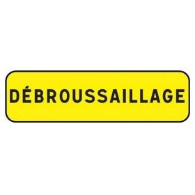 """KM9 jaune classe 2 """" debrousaillage """" TALIAPLAST"""