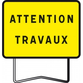 "KC1 classe 2 "" attention travaux "" TALIAPLAST"