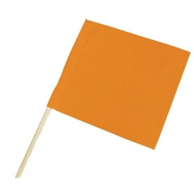 Fanion orange fluo 40x50cm TALIAPLAST